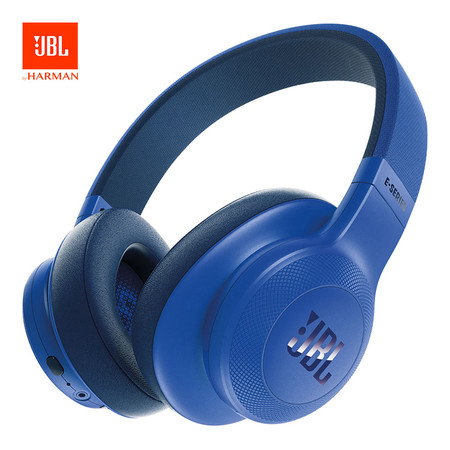 หูฟังบลูทูธ JBL รุ่น E55BT - Blue