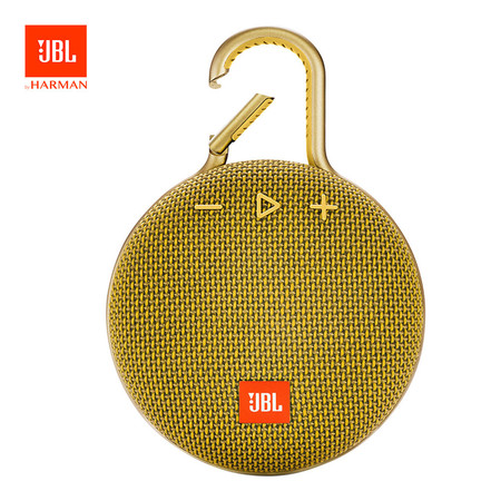 ลำโพงบลูทูธกันน้ำ JBL Clip 3 - Mustard Yellow