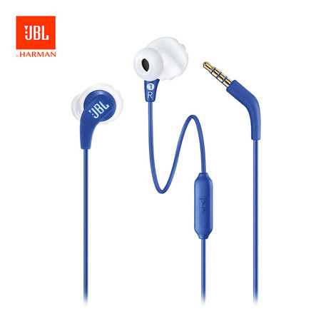 หูฟังบลูทูธ JBL Endurance Run - Blue