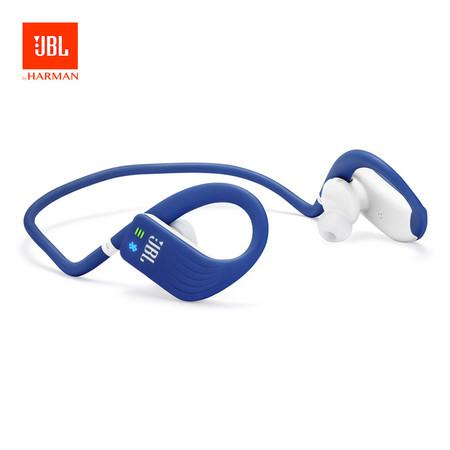 หูฟังบลูทูธสำหรับออกกำลังกาย JBL Endurance Dive with MP3 Player - Blue