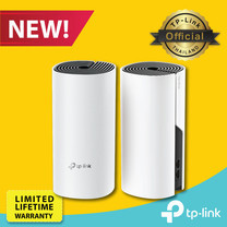 TP-Link Deco M4 (แพ็ค 2 เครื่อง) Mesh Wi-Fi (AC1200 Whole Home Mesh Wi-Fi System) เป็นทั้ง Router, Access Point, Range Extender