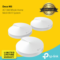 TP-Link Deco M5 Mesh router Wi-Fi & Repeater Access Point 1 กล่อง มี 3 เครื่อง