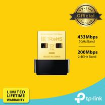 TP-Link Archer T2U Nano ตัวรับสัญญาณ Wi-Fi ใช้กับโน๊ตบุ๊คหรือPC (AC600 Nano Wireless USB Adapter)