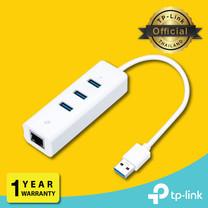 TP-Link UE330 แปลง USB ให้เป็นช่องแลน-USB3.0 -3ช่อง (USB 3.0 3-Port Hub & Gigabit Ethernet Adapter 2 In 1 USB Adapter)
