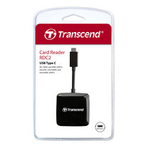 Transcend Card Reader Type-C : TS-RDC2K : Transcend (สินค้ารับประกัน 2 ปี) - สินค้ามีใบกำกับภาษี