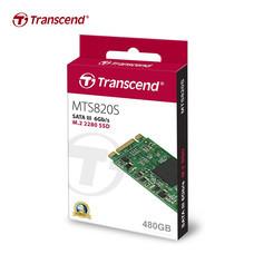 Transcend M.2 SSD 480GB : SATA III : TS480GMTS820S