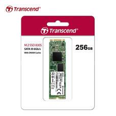 Transcend M.2 SSD 256GB : SATA III (R.Max 560 MB/s / W.Max 520 MB/s) : TS256GMTS830S