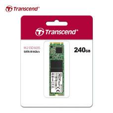 Transcend M.2 SSD 240GB : SATA III : TS240GMTS820S