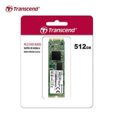 Transcend M.2 SSD 512GB : SATA III (R.Max 560 MB/s / W.Max 520 MB/s) : TS512GMTS830S