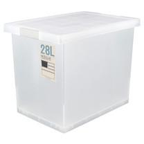 Double lock กล่องญี่ปุ่น กล่องพลาสติกอเนกประสงค์ รุ่น 5223 ความจุ 28 ลิตร