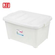 JCJ กล่องเก็บของอเนกประสงค์มีล้อ ความจุ 25 ลิตร รุ่น 5112 - สีขาว