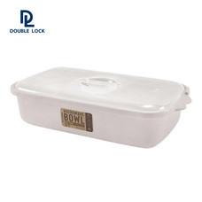 JCJ กล่องไมโครเวฟสำหรับอุ่นอาหาร ขนาด 3300 มล. รุ่น 4621 - สีเบจ