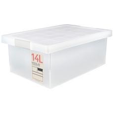 Double lock กล่องญี่ปุ่น กล่องพลาสติกอเนกประสงค์ รุ่น 5222 ความจุ 14 ลิตร