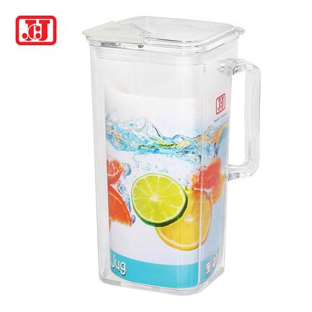 JCJ เหยือกน้ำพลาสติกมีฝาปิด 1900 ml. รุ่น 1307 - สีขาว