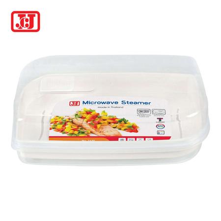 JCJ กล่องไมโครเวฟสำหรับอุ่นอาหาร ขนาด 2500 มล. พร้อมช่องระบายอากาศ รุ่น 1639