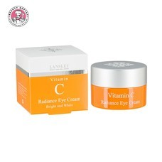LANSLEY VITAMIN C RADIANCE EYE CREAM BRIGHT AND WHITE  (20ML.)