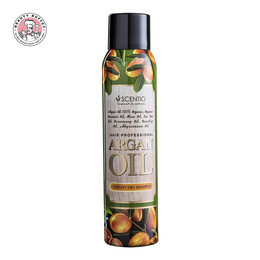 SCENTIO HAIR PROFESSIONAL ARGAN OIL THERAPY DRY SHAMPOO