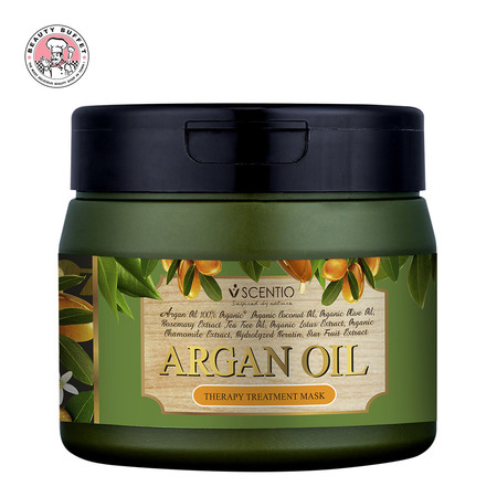 SCENTIO HAIR PROFESSIONAL ARGAN OIL THERAPY TREATMENT MASK