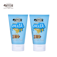 (แพ็คคู่) PREMIUM MILK HONEY FACIAL FOAM (100G.)