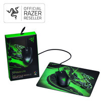Razer Gaming Mouse Abyssus Lite bundle Goliathus mobile construct edition
