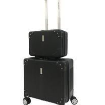 BP WORLD เซ็ทกระเป๋าเดินทาง รุ่น Miracle 8058 ขนาด 13 นิ้ว และ 17 นิ้ว - สีดำ