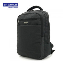 BP WORLD กระเป๋าเป้โน๊ตบุ๊ค รุ่น PN18621 - สีดำ