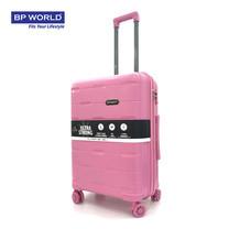 BP WORLD กระเป๋าเดินทาง 25 นิ้ว รุ่น 8008 - สีชมพู