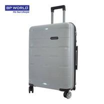 BP WORLD กระเป๋าเดินทาง 25 นิ้ว รุ่น 8008 - สีเงิน