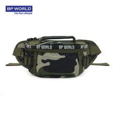 BP WORLD กระเป๋าคาดเอว CAMO Collection รุ่น C6433GS - สีลายทหาร