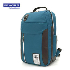 BP WORLD กระเป๋าเป้ รุ่น P003 - สีเขียวน้ำทะเล
