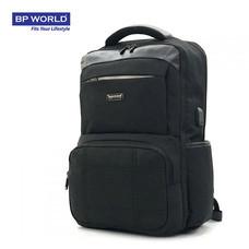 BP WORLD กระเป๋าเป้โน๊ตบุ๊ค รุ่น PN16813 - สีดำ