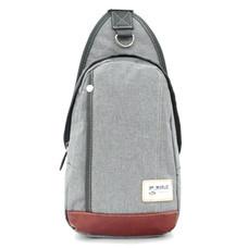 BP WORLD กระเป๋าสะพาย คาดอก รุ่น FINO B1411 - สีเทา