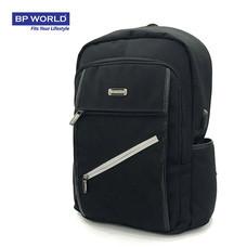 BP WORLD กระเป๋าเป้โน๊ตบุ๊ค รุ่น PN18610 - สีดำ