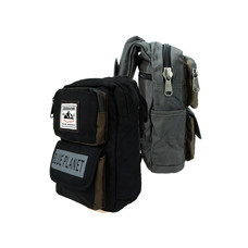 BP WORLD กระเป๋าสะพาย รุ่น B008 มีให้เลือก 2 สี ได้แก่ สีดำ และ สีเทา