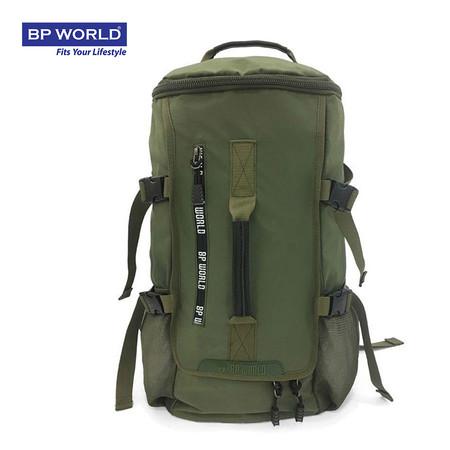 BP WORLD กระเป๋าเป้ CAMO Collection รุ่น P6419GR - สีเขียว