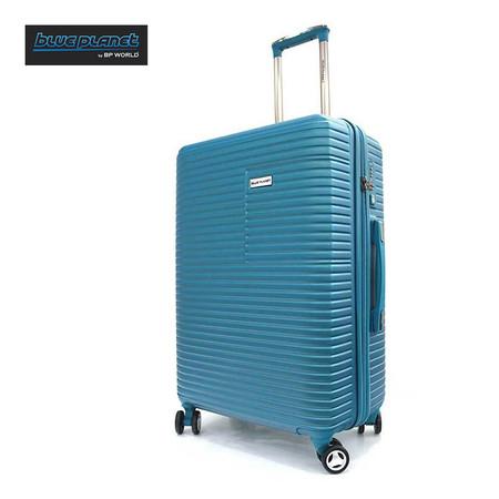 BLUE PLANET BY BP WORLD กระเป๋าเดินทาง 25 นิ้ว รุ่น 147 - สีฟ้า