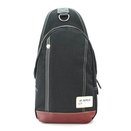 BP WORLD กระเป๋าสะพาย คาดอก รุ่น FINO B1411 - สีดำ