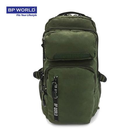 BP WORLD กระเป๋าเป้ CAMO Collection รุ่น P6418GR - สีเขียว