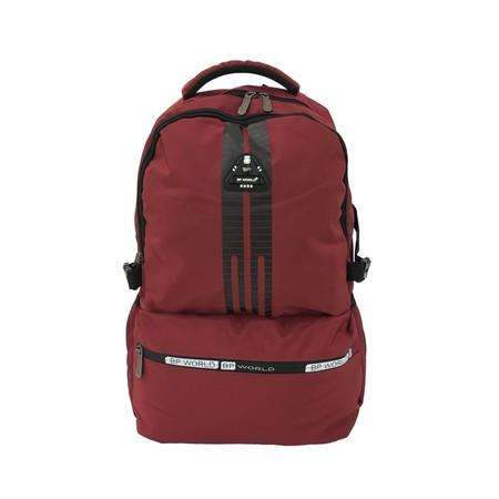 BP WORLD กระเป๋าเป้ รุ่น P988-RE - สีแดง