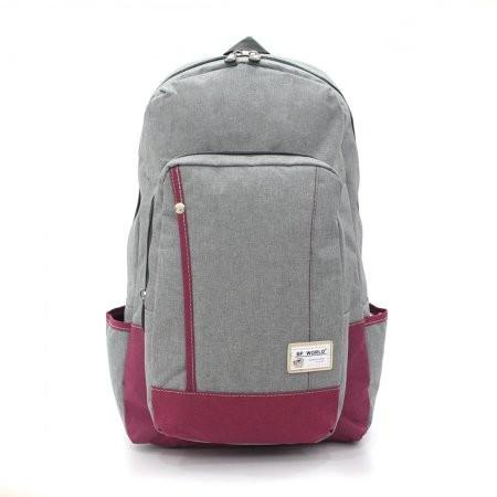 BP WORLD กระเป๋าเป้ รุ่น FINO P1408 สีเทา