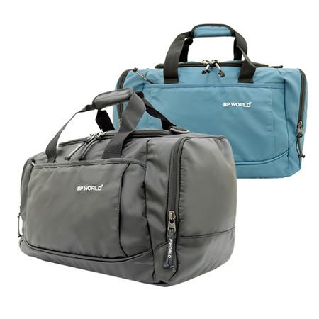 BP WORLD กระเป๋าสะพาย รุ่นB342 สีฟ้า/สีดำ