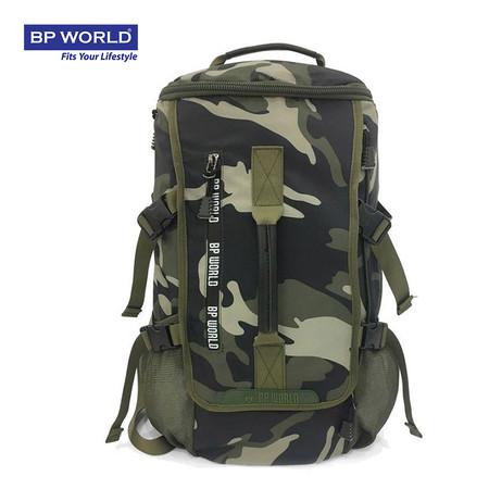 BP WORLD กระเป๋าเป้ CAMO Collection รุ่น P6419GS - สีลายทหาร