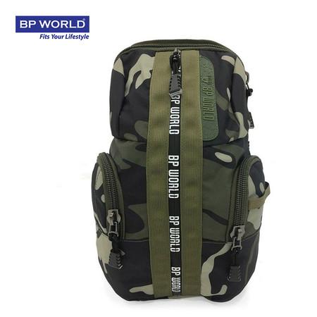 BP WORLD กระเป๋าคาดอก CAMO Collection รุ่น C6421GS - สีลายทหาร