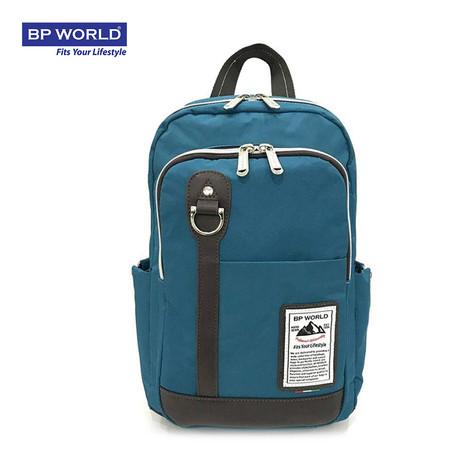 BP WORLD กระเป๋าเป้ รุ่น P006 - สีเขียวน้ำทะเล
