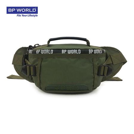 BP WORLD กระเป๋าคาดเอว CAMO Collection รุ่น C6433GR - สีเขียว