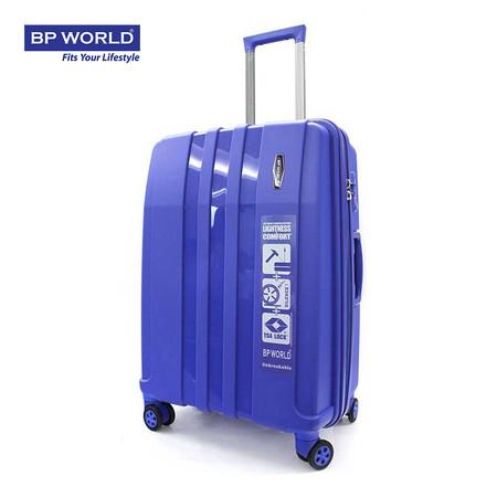 BP WORLD กระเป๋าเดินทาง 25 นิ้ว รุ่น 8003 - สีน้ำเงิน
