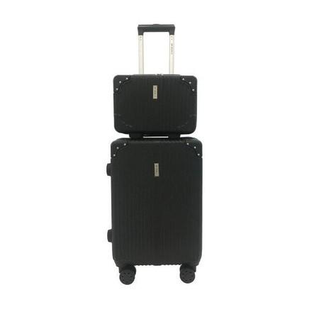 BP WORLD เซ็ทกระเป๋าเดินทาง รุ่น Fantastic 8059 ขนาด 13 นิ้ว และ 20 นิ้ว - สีดำ