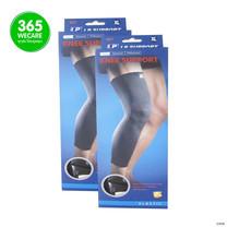 ซื้อคู่ส่งฟรี LP Knee Support (667) เข่า size M สีดำ