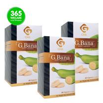 SIAM GNR G.Bana 60s.+60s.+60s.ผงกล้วยดิบผสมสมุนไพร(ราคา 3 กล่อง)