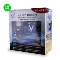 Set สุดคุ้ม VICHY Thermal Aqualia Night Spa Gelcream 75ml.Free Micellar 30ml.